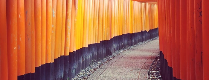 Fushimi Inari Taisha is one of Japan.
