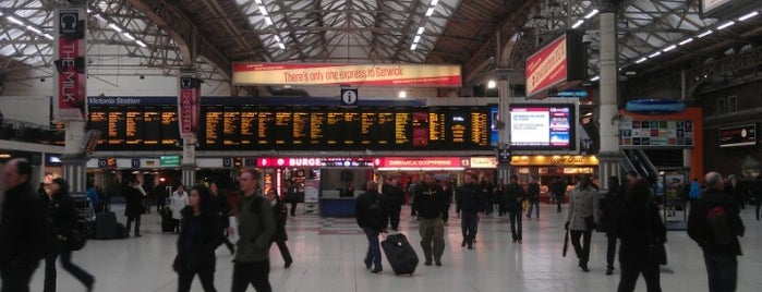 London Victoria Railway Station (VIC) is one of England (insert something witty here).