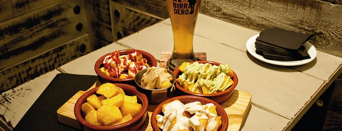 Abirradero is one of Tapas.