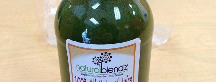 Natural Blendz is one of Locais curtidos por Brendiflex.