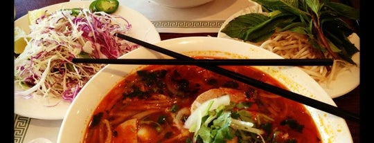 Pho City is one of Favorite affordable date spots.
