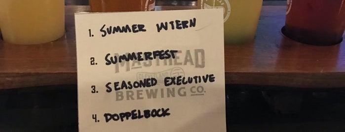 Masthead Brewing Co is one of Lugares favoritos de Cole.