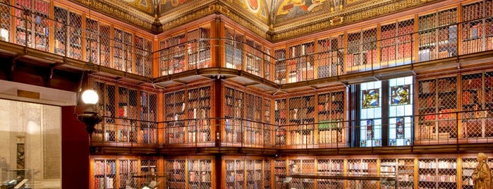 The Morgan Library & Museum is one of Hidden History NYC.