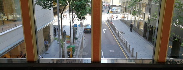 Ice House Street is one of HK's Roads Path.