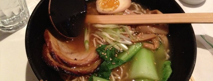 Jin Ramen is one of Food To Done.