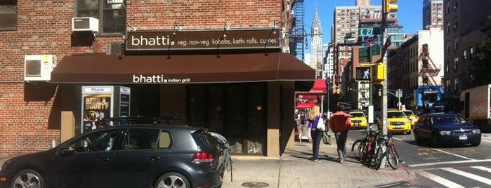 Bhatti Indian Grill is one of บันทึกเดินทาง New York.