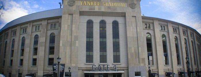 Yankee Stadium is one of Baseball Stadiums (MLB)....