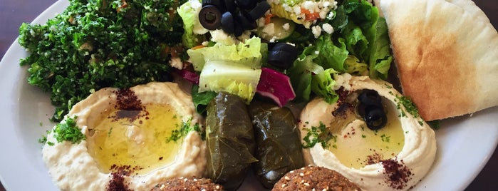Lama Mediterranean Café is one of eva's Liked Places.