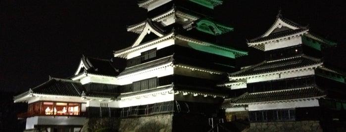 松本城 is one of 日本夜景遺産.