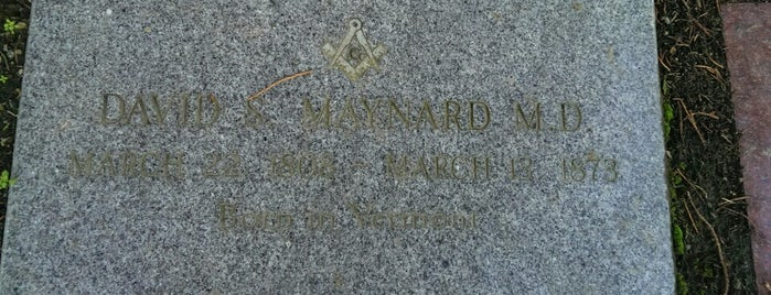 Doc Maynard's Grave is one of Seattle Area Oddities.