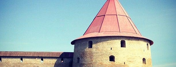 Oreshek Fortress is one of СПб.
