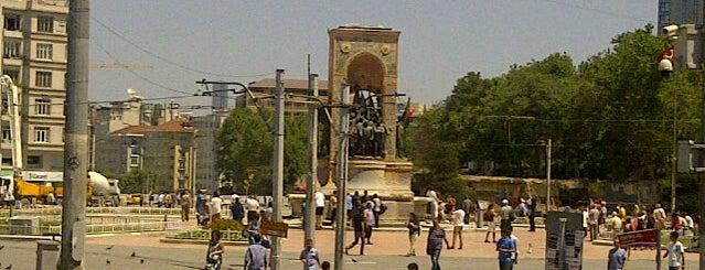 Taksim Meydanı is one of Turkey 2013.