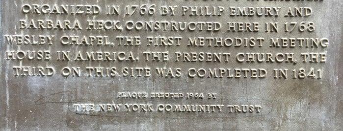 John Street United Methodist Church is one of Atlas Obscura NYC.