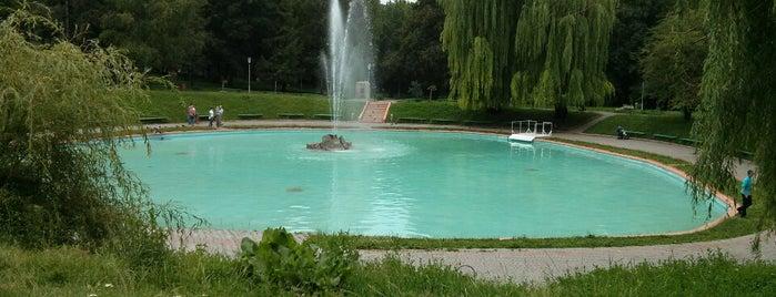 Парк «Гунські криниці» is one of В Каменец-Подольском.