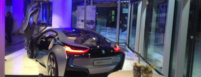 BMW Pavillon is one of Die lange Nacht der Architektur 2013.