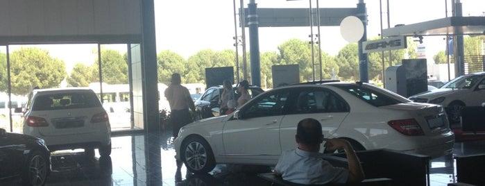 Mercedes-Benz Hastalya is one of Lieux qui ont plu à Sedat💛💙.