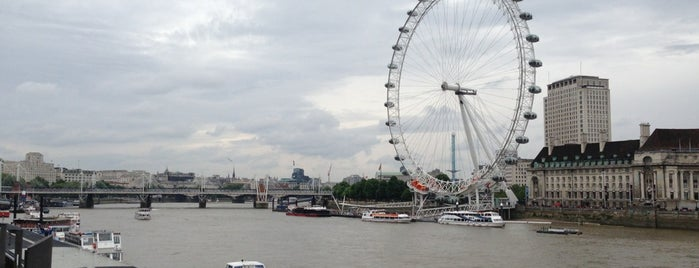 The London Eye is one of Wher to go in London.
