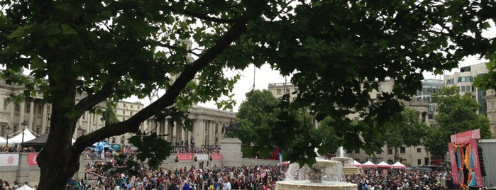 Trafalgar Square is one of Wher to go in London.
