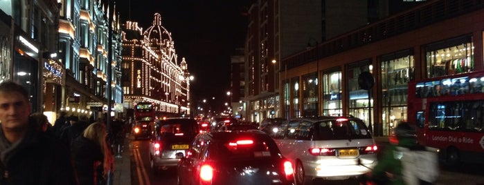Knightsbridge is one of Wher to go in London.