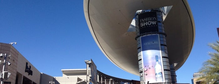 Fashion Show Mall is one of Where to go in Las Vegas.