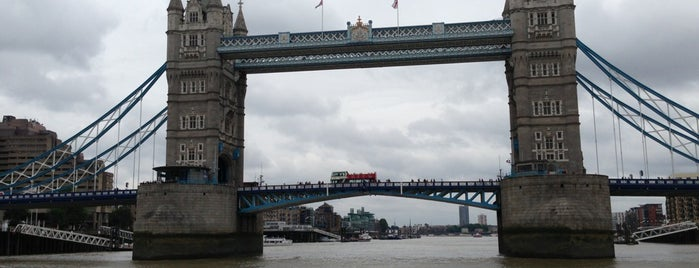 Tower Bridge is one of Wher to go in London.