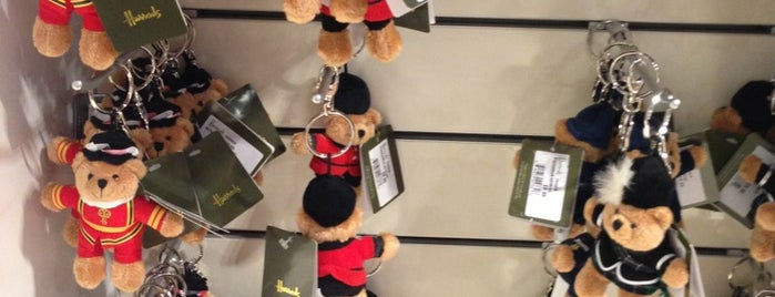 Harrods is one of Wher to go in London.