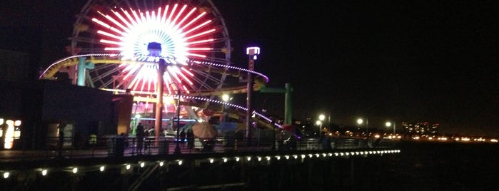 Pacific Park is one of Wher to go in Los angeles.