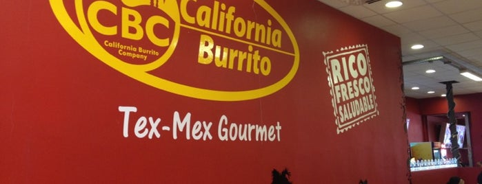 CBC California Burrito Co. is one of Fio 님이 좋아한 장소.