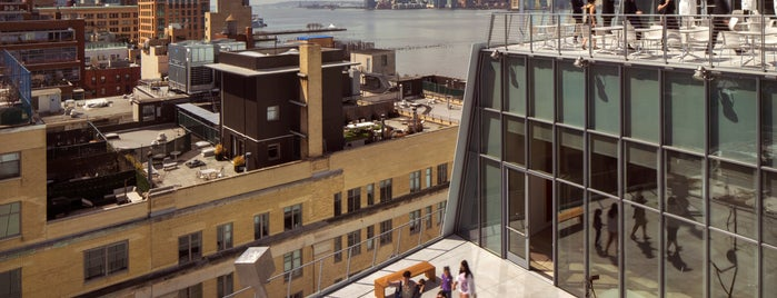 Whitney Museum of American Art is one of NYC's Best Rooftops.