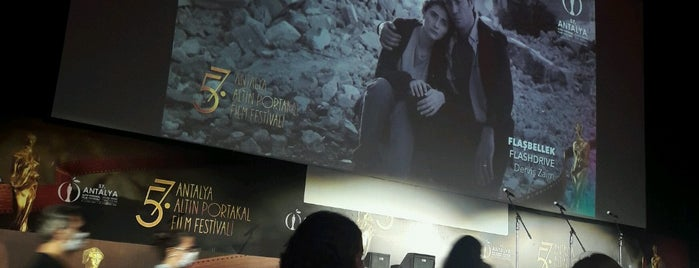 56. Antalya Altın Portakal Film Festivali is one of Antalya.