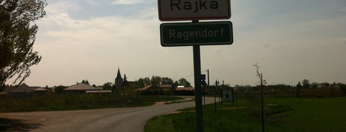 Rajka is one of cyklovýlety.