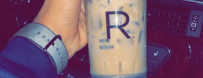Starbucks is one of Tempat yang Disimpan Neel.