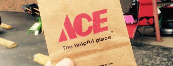 Cotton's Ace Hardware is one of Lake Wauwanoka.