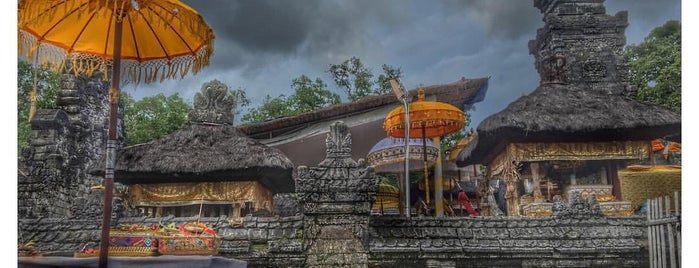 Pura Dalem Sakenan is one of 5 spooky places in Bali.