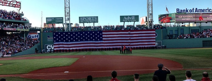 Fenway Park is one of USA #4sq365us.