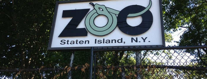 Staten Island Zoo is one of Pien's list.