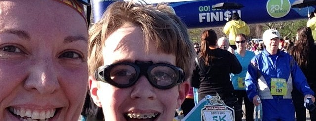 Go! St. Louis Marathon and Half Marathon is one of Aaron's 5k St. Louis runs.