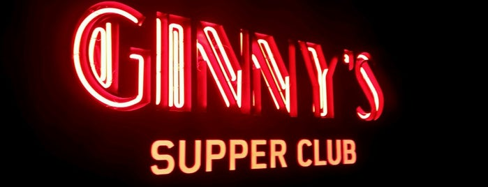 Ginny's Supper Club is one of Lieux sauvegardés par Lisa.