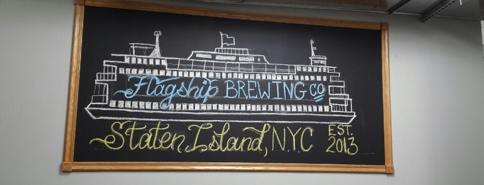 Flagship Brewing Co. is one of Staten Island.