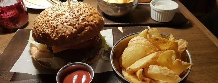 Restart Burger is one of Tempat yang Disukai Martin.