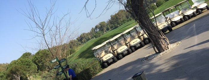 Antalya Golf Club is one of Locais salvos de nicola.
