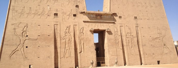 Temple of Edfu is one of Egypt.