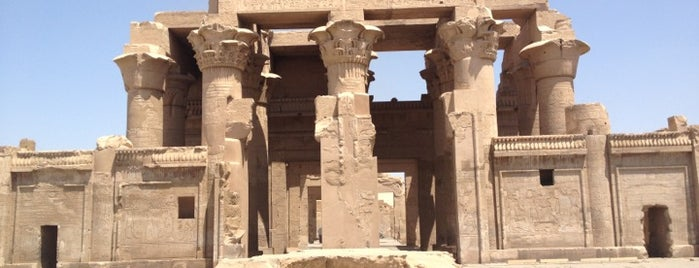 Temple of Kom Ombo is one of Egypt..