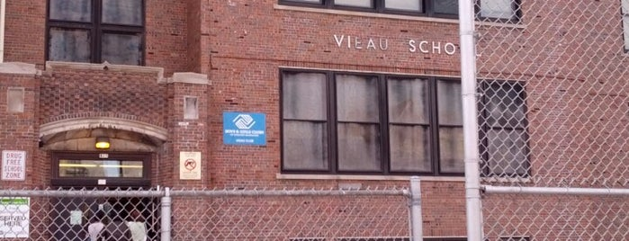 Ecsuela Vieau School is one of Ana's Liked Places.
