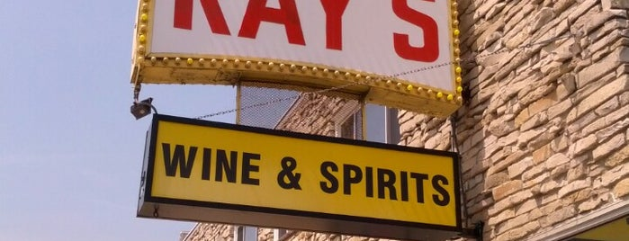 Ray's Liquor is one of Rob's Liked Places.