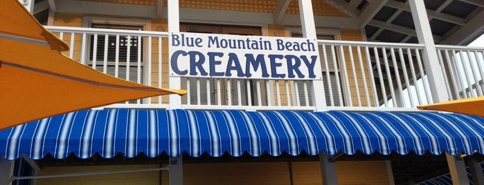 Blue Mountain Creamery is one of American Travel Bucket List-The South.