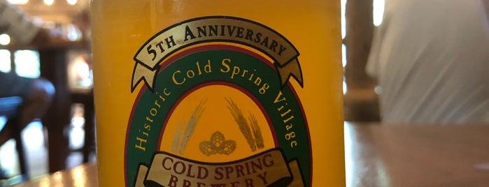 Cold Spring Brewery is one of Vineyards, Breweries, Beer Gardens.