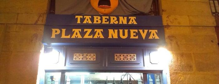 Taberna Plaza Nueva is one of Bilbao.