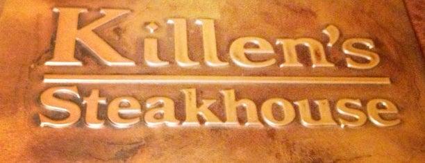 Killen's Steakhouse is one of Houston Press - 'We Love Food' - 2012.