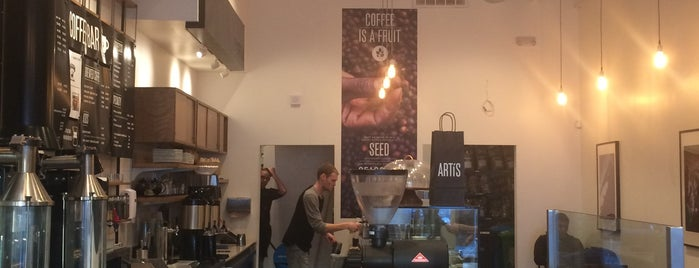Artis Coffee Roasters is one of Mission.